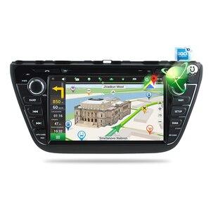 Image 3 - Android 9,0 автомобильный Радио DVD стерео для Suzuki SX4 S Cross 2014 2015 2016 аудио GPS мультимедиа плеер Bluetooth видео навигация