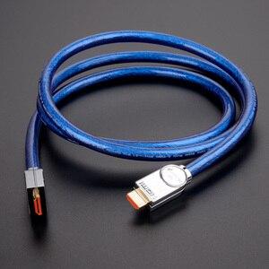 Image 5 - HDMI כבלי 2.1 8K 60Hz 4K 120Hz HDR 48Gbps HIFI קשת 12 קצת 7680*4320 px עם אודיו & Ethernet HDR 4:4:4 MOSHOU מגבר