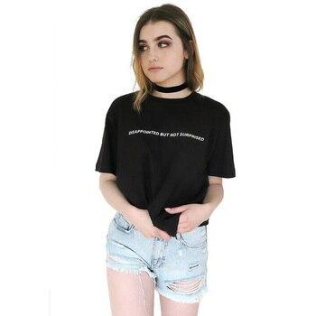 T-shirt Déçu Mais Pas Surprise Femmes
