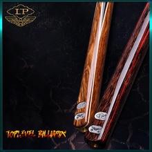 LP GENTLEMAN 3/4 Piece Snooker Cue Billiard Stick with Case and Extension Ash Shaft 9.8mm Tip Handmade