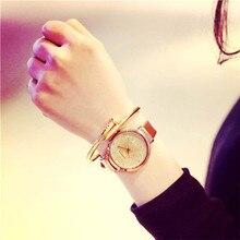 Women Watch Sands Starry Simple Temperament Belt Table Diamond Quartz Watch Fashion &Casual Popular High Quality Hot Maketing M1