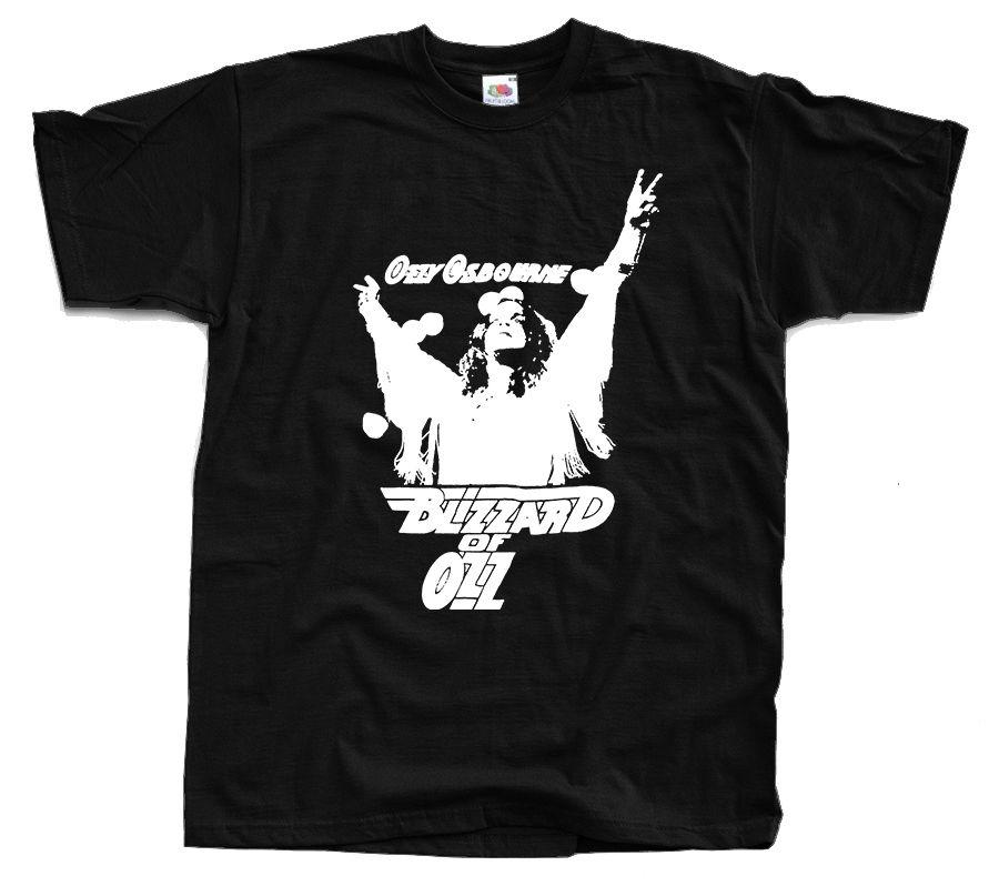 OZZY OZBOURNE Blizzard of Ozz, Replica, 80s UK Tour Concert 1981 T-Shirt S-3XL New Fashion MenS T Shirt Top Tee Plus Size