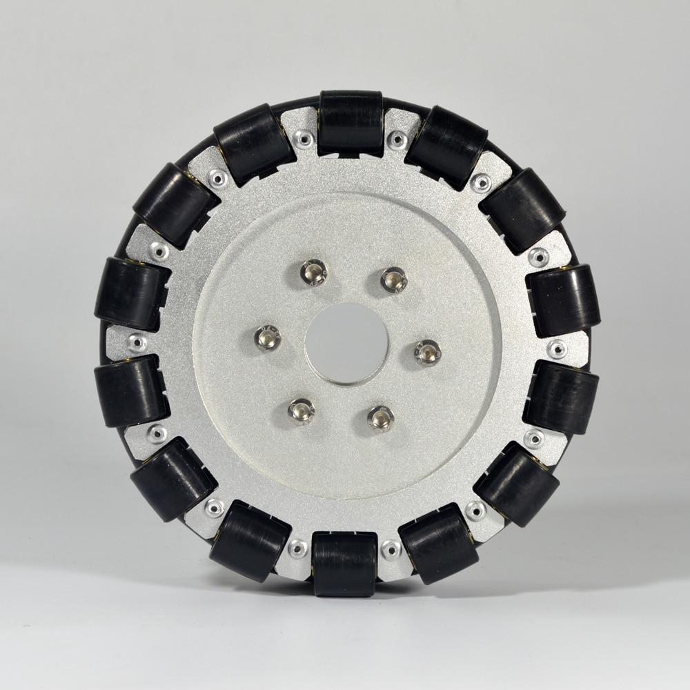 Roue en aluminium Omni Double 152mm de base 14085Roue en aluminium Omni Double 152mm de base 14085