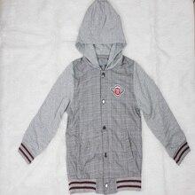 Новинка года; пальто; зимняя флисовая верхняя одежда для мальчиков; От 7 до 12 лет