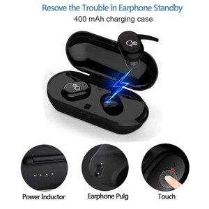 Image 5 - タッチ Bluetooth イヤホン TWS ワイヤレスヘッドフォンミニインナーイヤー Hd ステレオハンズフリーヘッドセットノイズキャンセルのため xiaomi iPhone