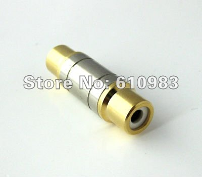 Free shipping 5 pieces lot Wholesale RCA adapter RCA female Jack to RCA female connector Audio