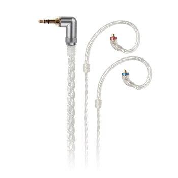 FiiO LC-2.5C/3.5C/4.4C ручной MMCX сбалансированный Сменный кабель для наушников для Shure/Westone/JVC/FiiO