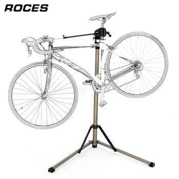 Aluminum Alloy Bike Work Stand Professional Bicycle Repair Tools Adjustable Fold Bike Rack Holder Storage Bicycle Repair Stand