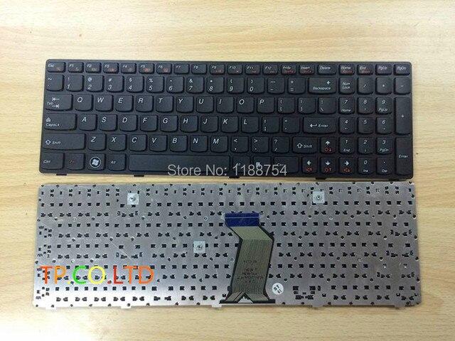 Оригинальный Новый Ноутбук Клавиатура для Lenovo G500 G505 G510 G700 G710 США Черный Бесплатная Доставка