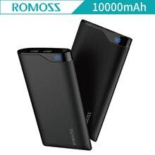 Newest Romoss EN10 10000mAh Digital Screen External Powerbank Batteries Dual USB Power Bank for iphone 8 plus for iphone X En 10