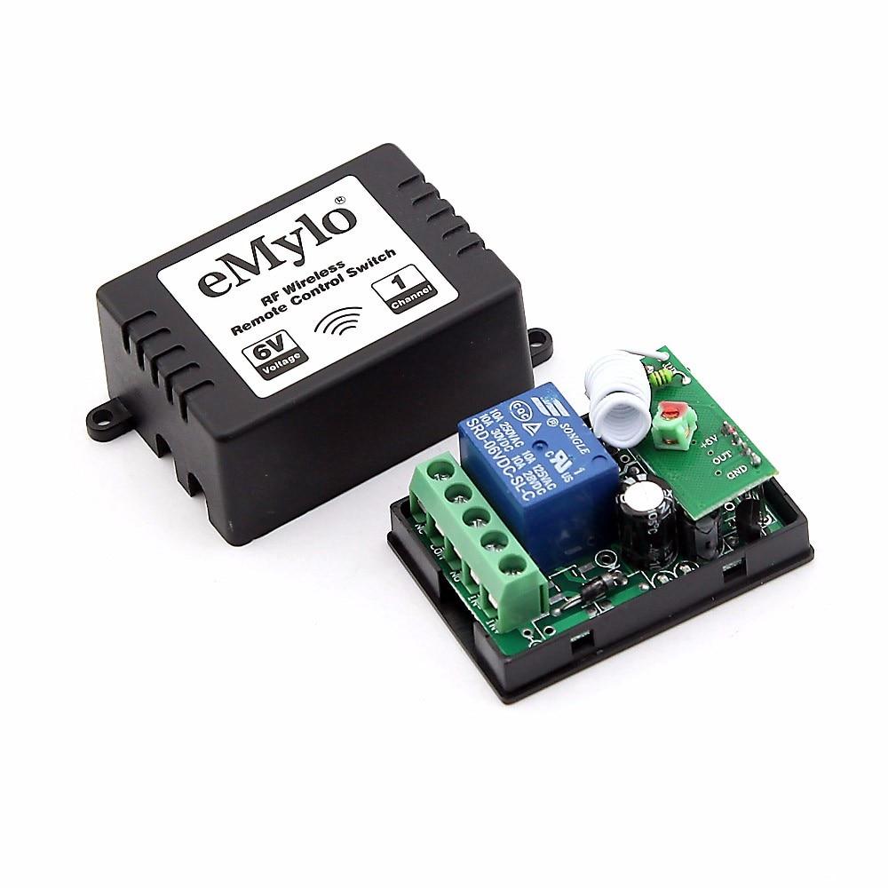 Schema Elettrico Emylo : Emylo rf dc v v switch wireless luce di controllo interruttore