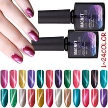 MDSKL Nail Gel 10ML Nail Polish Art Nail Need Magnet UV Gel Soak Long-lasting Removable 72 Colors Chameleon Professional Gel