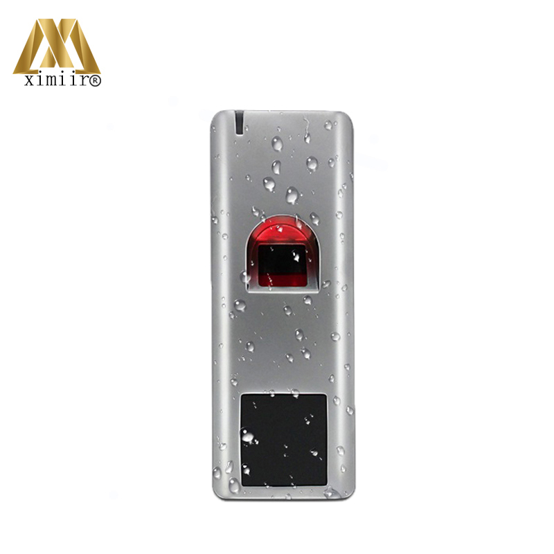 New Arrival MW100 IP65 Waterproof Metal Fingerprint Standalone Access Control With 125KHz Card Reader Fingerprint Reader|Access Control Kits| |  - title=