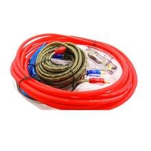 Автомобильный аудио динамик s монтажные комплекты кабель 60A разъем Усилитель-сабвуфер установка динамика 8GA 5 м кабель питания 1500 Вт Держатель плавкого предохранителя