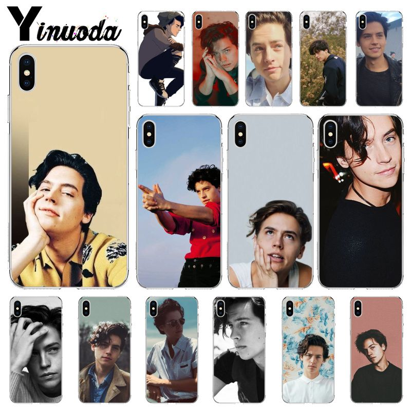 Yinuoda <font><b>riverdale</b></font> cole sprouse Jughead Jones Customer High Quality Phone <font><b>Case</b></font> for Apple <font><b>iPhone</b></font> 8 7 <font><b>6</b></font> 6S Plus X XS MAX 5 5S SE XR image