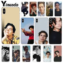Yinuoda riverdale cole sprouse Jughead Jones Customer High Quality Phone Case for Apple iPhone 8 7 6 6S Plus X XS MAX 5 5S SE XR yinuoda demi lovato customer high quality phone case for apple iphone 8 7 6 6s plus x xs max 5 5s se xr mobile cover