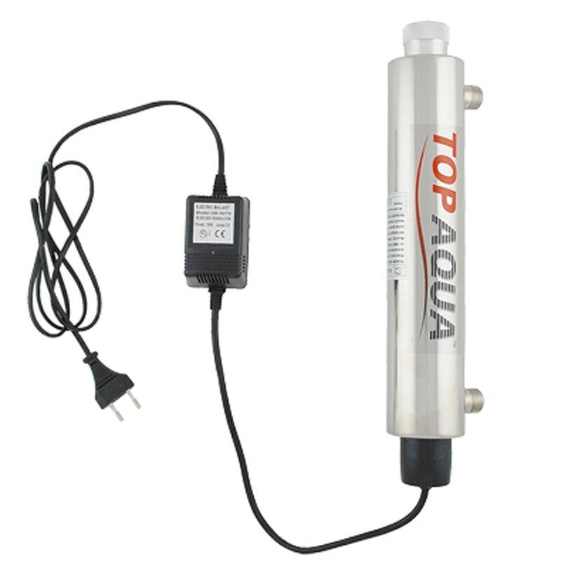 Coronwater SS304 2 GPM UV Sterilisator Desinfektion System CE, RoHS für Wasseraufbereitung