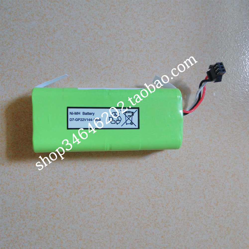 лучшая цена Ni-MH 2500 mAh Original Battery replacement for Seebest D730 Seebest D720 MOMO 1.0 2.0 robot Vacuum Cleaner Parts