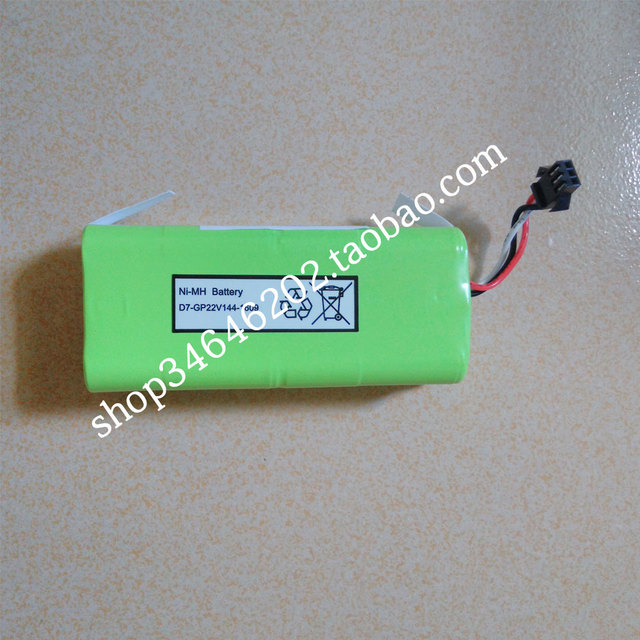 Ni MH 2500 mAh Original Battery replacement for Seebest D730 Seebest D720 MOMO 1.0 2.0 robot Vacuum Cleaner Parts
