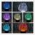 Infantil noche Dados 3D Conduziu A Lâmpada toque lâmpada night light mudança de 7 cores do natal Do Miúdo criança sala de estar/quarto mesa/mesa de luz festa