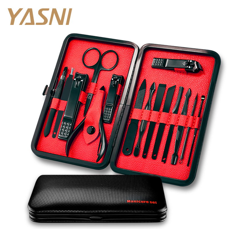 15pcs/Set Professional Stainless Steel Nail Clipper Kit Pedicure Scissors Tweezer Knife EarPick Manicure Set Nail Art Tools NT93 15 in 1 stainless steel pedicure manicure set nail clipper scissors tweezer cutter clip nail care cuticle grooming kit tools