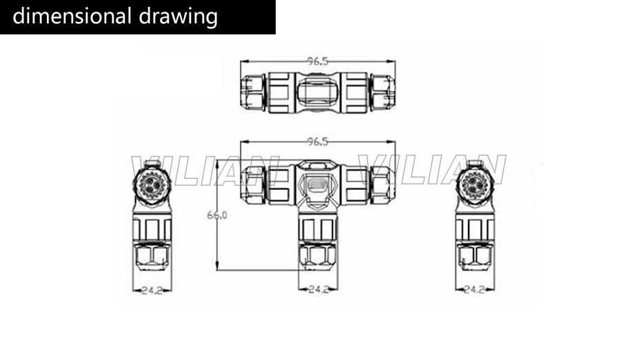 T Connector 3 way T Shape 2 pin 3 pin 4 pin IP67 Waterproof ... on 4 pin trailer harness schematic, 4 pin fan connector, 4 pin connector cable, 4 pin mic plug drawing, 4 pin xlr adapter, 4 pin trailer adapter, 4 pin connector power supply, 4 connector trailer wiring diagram, 4 pin flat connector, 4 pin fan header pinout, 4 pin molex power, 3-pin fan connector diagram, 4 pin trailer diagram,