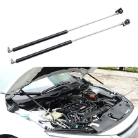 YAQUICKA 2x Car Front Engine Hood Cover Open Lift Hydraulic Support Rod Prop Stick For Honda