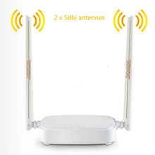 English Firmware Wireless Router Tenda N301 Wifi Router 300Mbps 802.11 b/g/n/3/3u Access Point Signal Booster 4 Ports
