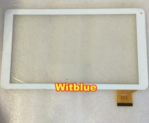 Witblue New For 10.1 ARCHOS 101 HELIUM LITE Platinum Tablet touch screen panel Digitizer Glass Sensor replacement Free Shipping archos 55 platinum blue