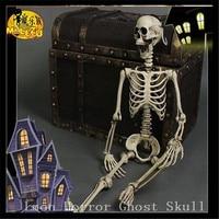 Один набор 165 см Хэллоуин, привидения дом бар макет сцены реквизит пластиковый светящийся череп скелет, ужасы эти трюки игрушки Призрак Чере