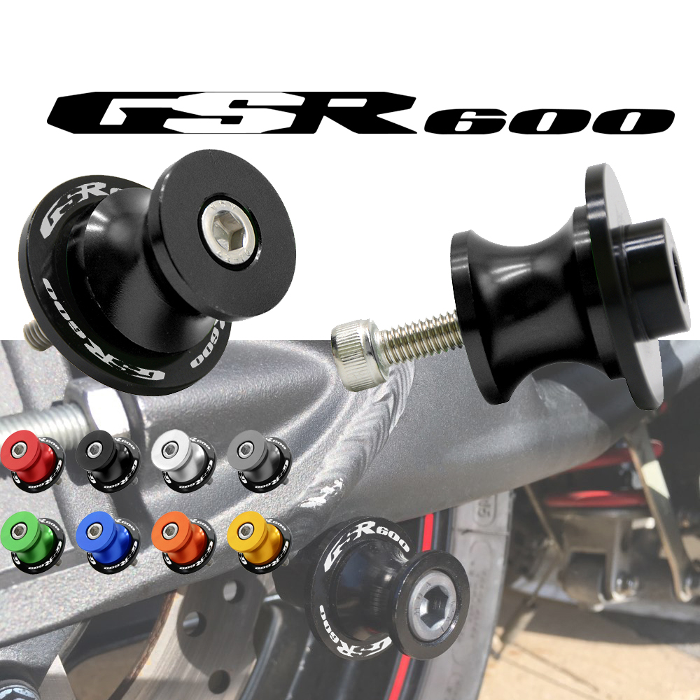 NEW Motorcycle Rear Swingarm Stand Stand Paddock 8MM Swingarm Sliders Spools For <font><b>SUZUKI</b></font> <font><b>GSR</b></font> <font><b>600</b></font> GSR600 2006 2007 <font><b>2008</b></font> 2009 2010 image