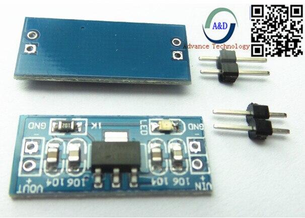 High quality LM1117 AMS1117 4.5-7V turn 3.3V DC-DC Step down Power Supply Module For Arduino bluetooth Raspberry pi