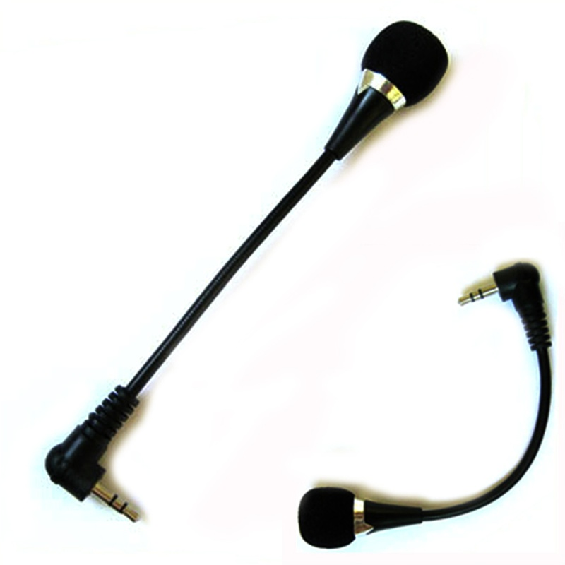 2017 hot sale New Mini 3.5mm Jack Flexible Microphone Mic For PC Laptop Notebook Skype Yahoo very nice