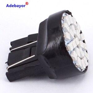 Image 4 - 100X T20 7443 W21/5 W 22 1206 LED 3014 SMD רכב היפוך גיבוי מנורת תור היגוי כיוון מחוון lamplet להפסיק בלם אור