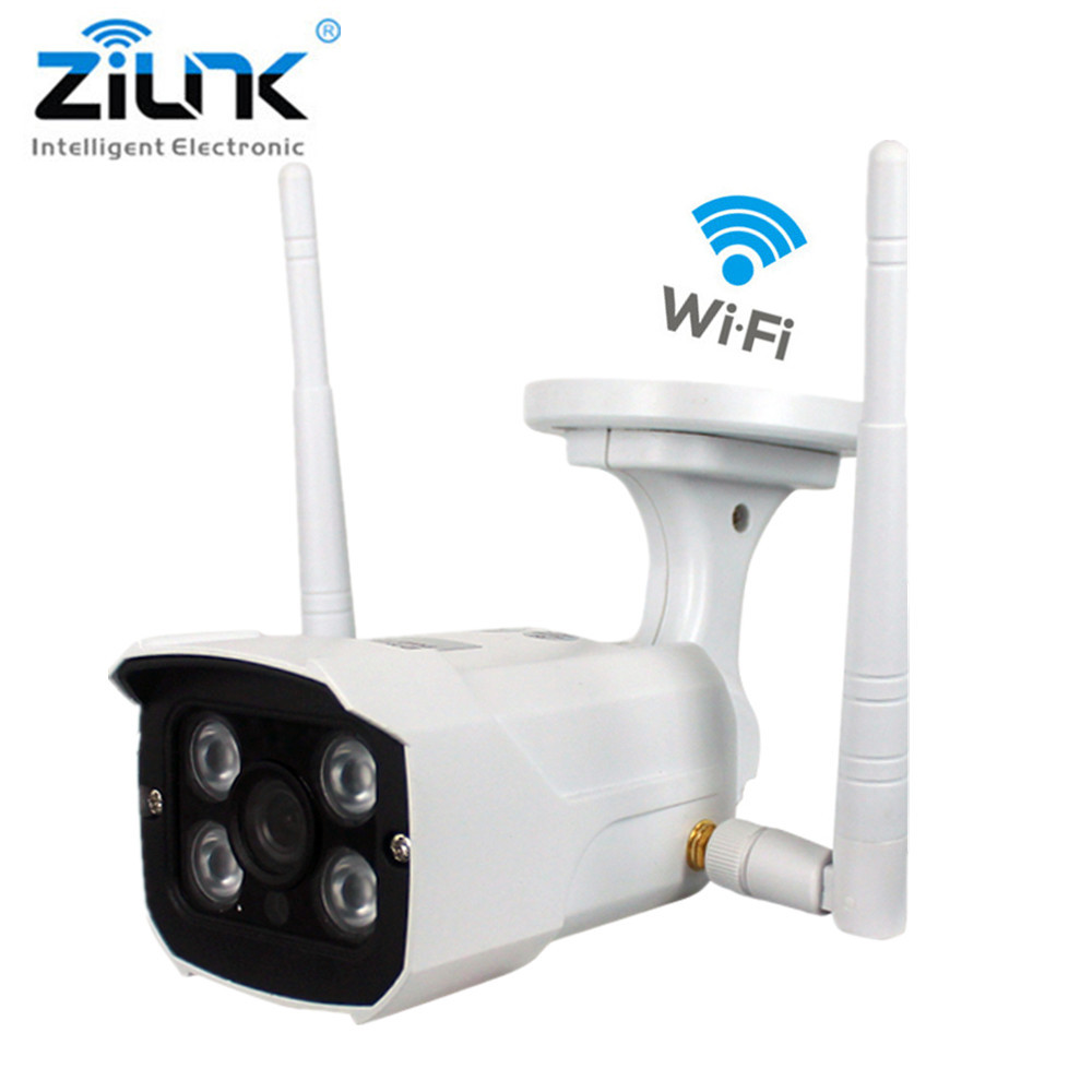 ZILNK WIFI IP Camera  960P HD Bullet Outdoor Waterproof Network Wireless Support TF Card Surveillance Home Security Camera bullet camera tube camera headset holder with varied size in diameter