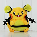 Hot sale 20cm Dedenne pokeball pikachu stuffed plush toy