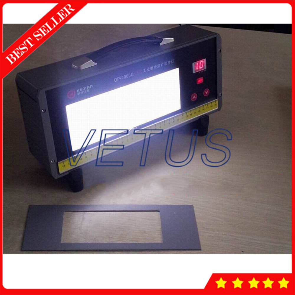 Visionneuse industrielle de Film de rayon de GP-2000C intelligente de Luminance élevée de LED 500 000Lux LED