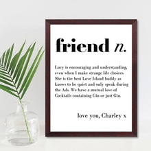 Cutomize Quote Prints Modern Wall Art Friend Canvas Painting Personalized Motto Poster Room Decor Pictures