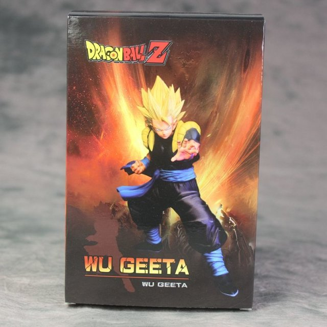 Anime Dragon Ball Z Dbz Dxf Super Saiyan Burdock Wu Geeta Battle Fighting Ver Model Collection Figure Toys Action & Toy Figures
