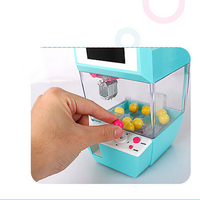 Catcher Alarm Clock Coin Operated Game Machine Toy Crane Machine Candy Doll Grabber Claw Machine Arcade Machine Automatic Toy m