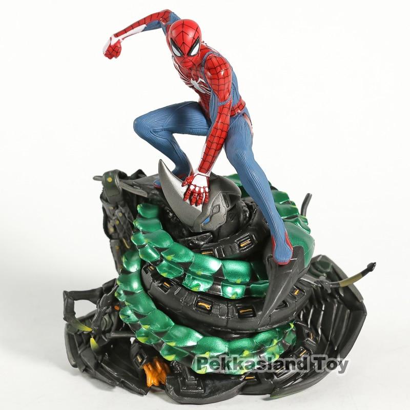Nieuwe Collectie Ps4 Game Groter Zijn Spider-man Standbeeld Marvel Super Hero Model Verjaardagscadeau Figurine Toys Toys & Hobbies