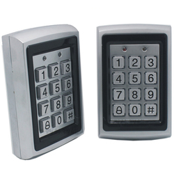 FC-898E Gratis Verzending 125 KHZ RFID Toegangscontrole Rvs Shell Waterdicht Toetsenbord Toegang Controller Voor Beveiliging