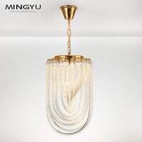 Klar Kristall Glas Kronleuchter Licht für Wohnzimmer Esszimmer Schlafzimmer Bar E14 Lichtquelle