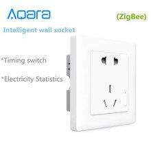 חדש Aqara חכם קיר שקע, ZigBee wifi Remotel בקרה אלחוטי עבודת מתג חכם בית ערכות APP