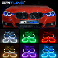 RGB Angel Eyes Kit For BMW E90 E60 E91 F30 E92 E88 E87 E82 E93 Car Lights Accessories LED Halos Mulit Color DTM Style DRL Tuning