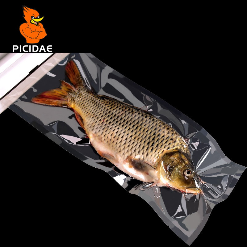 0 16mm A Grade Vacuum Clear Cooked Food Saver Packaging Bags Meat Snacks Tea Hermetic Storage Heat Sealing Plastic Package Pouch in Storage Bags from Home Garden