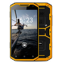 Original MFOX NFOX A8 IP68 Waterproof Smartphones Quad core 6 IPS screen 13MP 2MP android 4