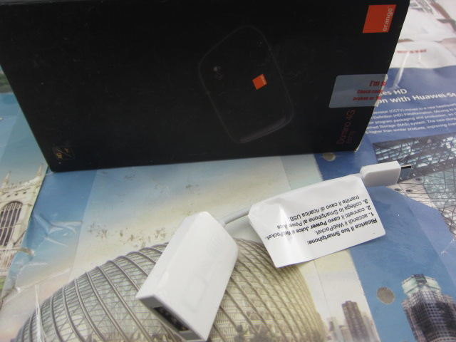 150M Lte 4G Router HUAWEI E5776 Huawei LOGO HUAWEI AF10 Adapter