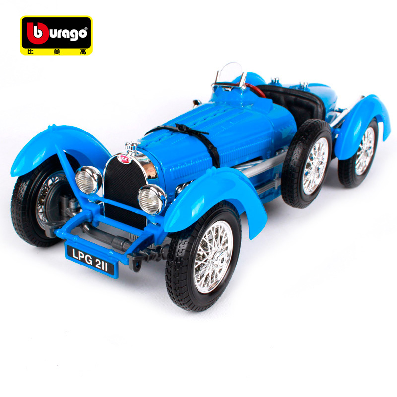 Bburago 1:18 1934 Bugatti Type 59 Car model Retro Classic Car Diecast Model Car Toy New In Box Free Shipping 12062 bburago 1 18 458 alloy supercar model favorites model