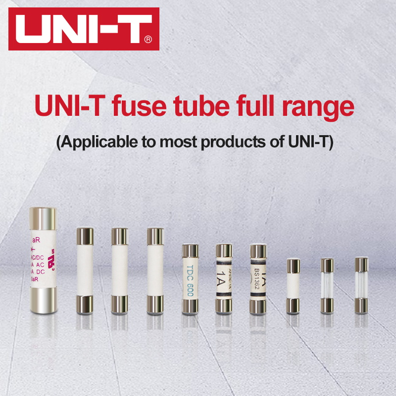 2pcs UNI-T Cartridge Fuse Fast Acting Fuse Porcelain Tube For Uni-t Multimeter UT61 UT139 UT890 UT39 <font><b>UT105</b></font> UT171 Series image